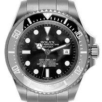 Rolex Steel Automatic Black 44mm new Sea-Dweller Deepsea