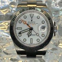 Rolex Explorer II Steel 42mm White No numerals United States of America, New York, Troy