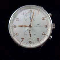 IWC Portuguese Chronograph Steel 41mm White United States of America, Connecticut, Greenwich