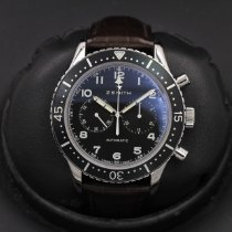 Zenith Pilot Type 20 pre-owned 43mm Black Rubber