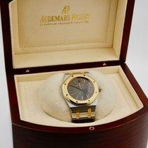 Audemars Piguet Royal Oak Jumbo occasion 39mm Gris Date Or/Acier