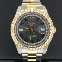 Rolex Datejust II 41mm Grey Roman numerals United States of America, New York, New York