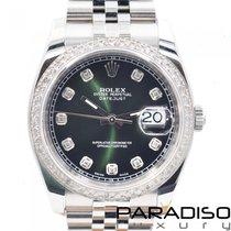 Rolex Datejust Stahl 36mm Perlmutt