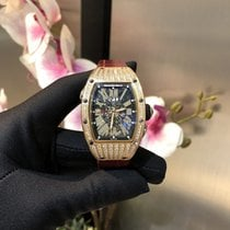 Richard Mille RM 037 Rose gold 53mm Transparent Roman numerals