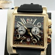 Franck Muller Yellow gold Automatic 45mm pre-owned Conquistador Cortez