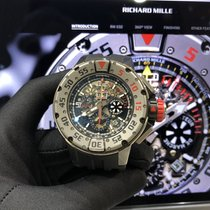 Richard Mille RM 032 Titanium 50mm Transparent No numerals