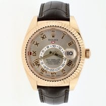 Rolex Sky-Dweller Or rose 42mm Romains