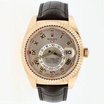 Rolex Sky-Dweller Rose gold 42mm Roman numerals United States of America, New York, New York