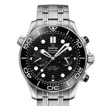 歐米茄 Seamaster Diver 300 M 新的 2020 自動發條 計時碼錶 附正版包裝盒和原版文件的手錶 210.30.44.51.01.001
