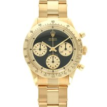 Rolex Daytona Or jaune 37mm Noir