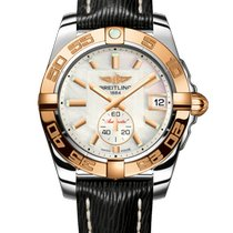 Breitling Galactic 36 Gold/Steel 36mm Pink