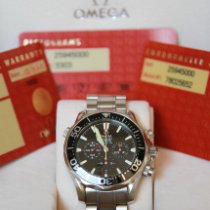 Omega pre-owned Automatic 42mm Black Sapphire crystal 30 ATM