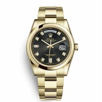 Rolex Day-Date 36 118208 New Yellow gold 36mm Automatic United States of America, New York, NY