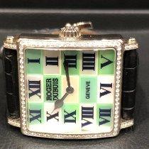 Roger Dubuis Ceas femei Golden Square 45mm Armare manuala folosit Ceas cu cutie originală și documente originale 2008
