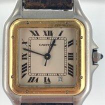 Cartier Panthère Gold/Stahl 27mm Weiß Römisch Deutschland, Eisenach