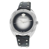 Versace new Quartz 38mm Steel Sapphire crystal