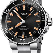 Oris Steel 43.5mm Automatic 01 733 7730 4159-07 8 24 05PEB new