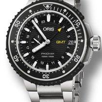 Oris ProDiver GMT Titane 49mm Noir