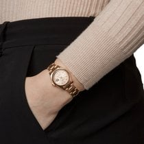 Rolex Or rose Remontage automatique Champagne Romains 26mm occasion Lady-Datejust
