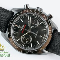 Omega Céramique Remontage automatique Noir Sans chiffres 44.2mm occasion Speedmaster Professional Moonwatch