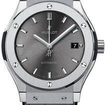 Hublot Classic Fusion Racing Grey nowość 2021 Automatyczny Zegarek z oryginalnym pudełkiem i oryginalnymi dokumentami 511.NX.7071.LR
