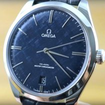 Omega De Ville Trésor Acciaio 40mm Blu Senza numeri Italia, Cavazzale Vicenza
