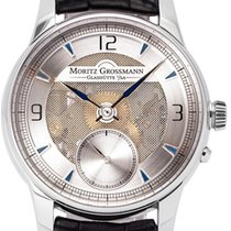 Moritz Grossmann Steel 40mm Manual winding 2011 pre-owned