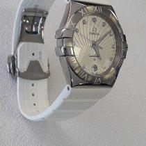 Omega Constellation Quartz nuevo Cuarzo Reloj con documentos originales 123.12.35.60.52.001
