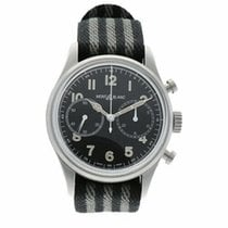 Montblanc 1858 pre-owned 42mm Black Textile