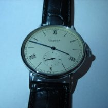 NOMOS Ludwig Steel 35mm Champagne Roman numerals