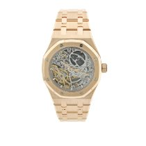 Audemars Piguet Royal Oak Double Balance Wheel Openworked Or rose 37mm Transparent Sans chiffres France, Paris