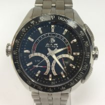 TAG Heuer SLR Steel 47mm Black No numerals