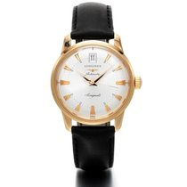 Longines Conquest Heritage Rose gold 35mm Silver