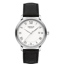 Montblanc Tradition Steel 40mm White Roman numerals