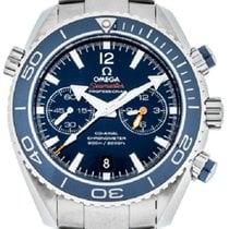 Omega Seamaster Planet Ocean Chronograph Titanium Blue UAE, Dubai