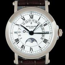Patek Philippe Perpetual Calendar White gold 36mm White Roman numerals United Kingdom, London