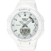 Casio Baby-G 41mm White No numerals