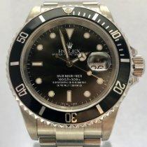 롤렉스 서브마리너 데이트 중고시계 40mm 검정색 날짜 스틸