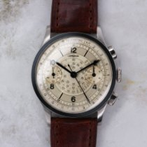 Lemania Steel 37mm Manual winding lemania chrono pre-owned United States of America, Florida, Sunny Isles Beach