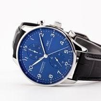 IWC Portuguese Chronograph Steel Blue