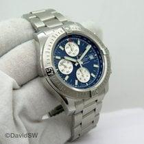 Breitling Colt Chronograph Automatic Stahl Blau
