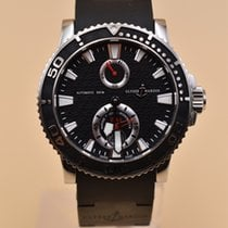 Ulysse Nardin Maxi Marine Diver Steel 42.7mm Black No numerals United States of America, Texas, Houston