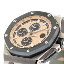 Audemars Piguet Royal Oak Offshore Chronograph Steel 44mm Champagne No numerals United States of America, Georgia, Atlanta