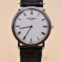 Patek Philippe Calatrava White gold 32mm White Roman numerals United States of America, Texas, Houston