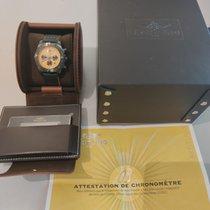 Breitling Chronomat 44 Blacksteel Stahl Gelb