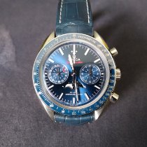 Omega Speedmaster Professional Moonwatch Moonphase Steel Blue No numerals United States of America, Florida, Miami