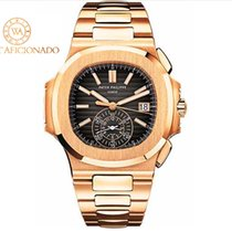 Patek Philippe 5980/1R-001 Rose gold 2019 Nautilus 40.5mm pre-owned United States of America, New York, New York