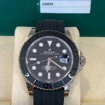 Rolex Yacht-Master 42 neu 2020 Automatik Uhr mit Original-Box und Original-Papieren 226659