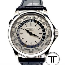 Patek Philippe World Time White gold 37mm Silver Arabic numerals United States of America, New York, New York