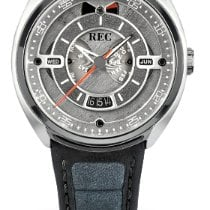 REC Watches Steel 43mm Automatic new